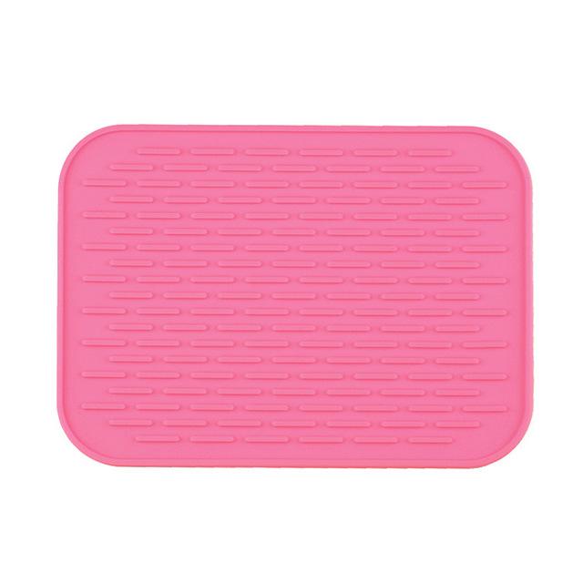 cách nhiệt silicone đầy màu sắc với bàn ăn lẩu mat placemat phong cách châu Âu thoát thảm mat xe phần dày hơn Silicone giả