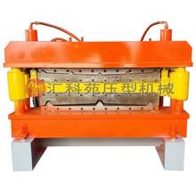 840 900双层彩钢压瓦机设备 屋面双型号压型机械 角驰双层成型机