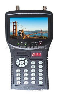 AHD高清视频测试/寻星功能/视频显示 KPT-255G+ 全英文菜无中文