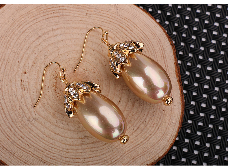Fashion OL Occident and the United States Zinc alloyearring NHBJ0204