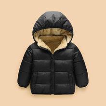 童裝2018冬季新款棉服兒童加厚羊羔絨棉外套男女寶寶棉襖一件代發