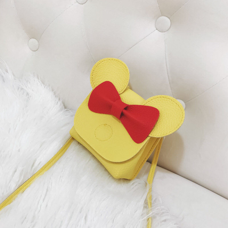 Korea PUShoulder Bags(yellow)NHSK0205-yellow