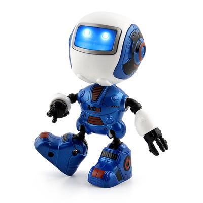Âm thanh-phát đồ chơi giáo dục đầu Robot hợp kim cảm ứng Q phiên bản mini tay robot thông minh để làm mô hình bán buôn