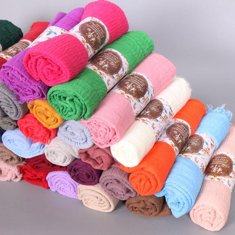 堆放效果图 (2)-毛须围巾褶皱 单色围巾批发