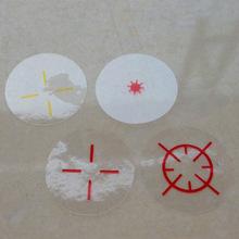 深圳供应订做PET  PE  PVC 屏幕保护膜圆形透明膜 面板铭板保护膜