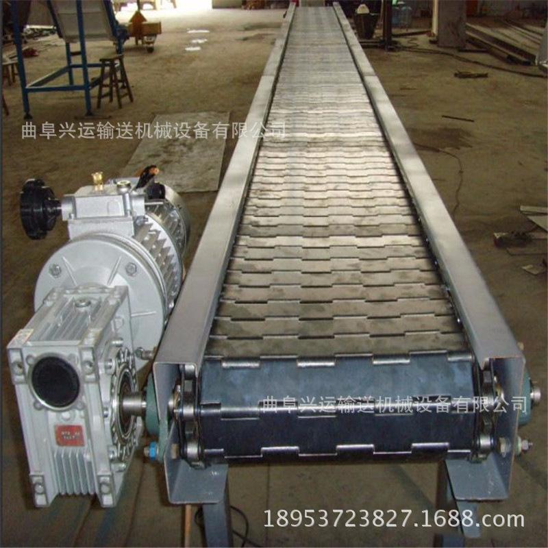 石头输送机加厚 加宽链板输送机图片出售厂家耐磨防滑
