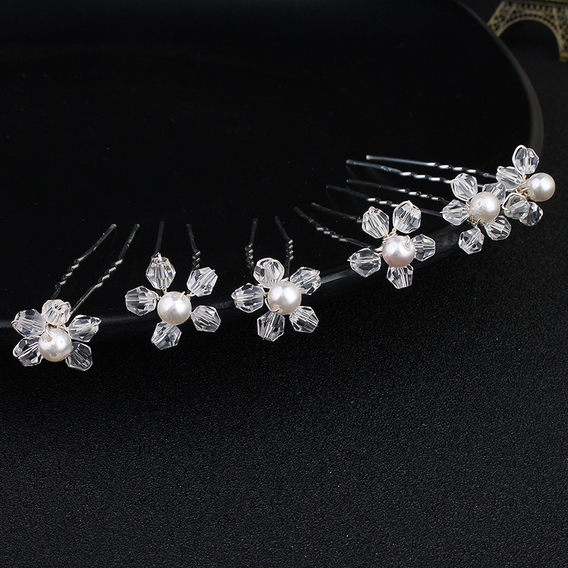 Alloy Fashion Geometric Hair accessories  (white) NHHS0080-white