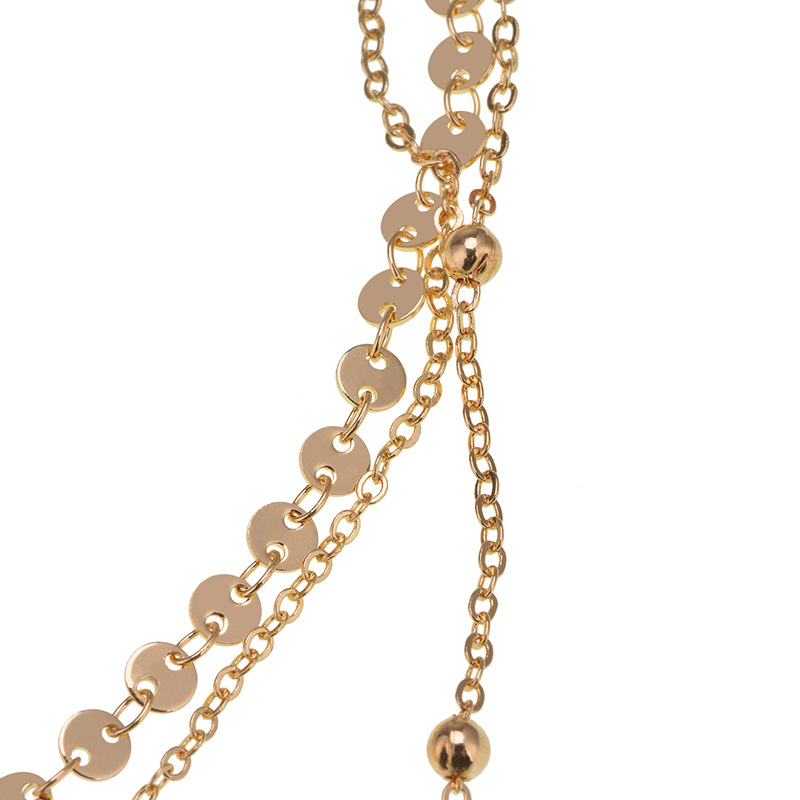 other alloynecklace (Gold)NHYT0296-Gold
