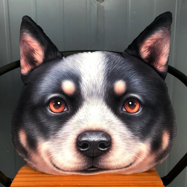 18年新款猫范XDOLLS澳斗抱枕3D动物狗狗个性创意毛绒玩具公仔靠垫