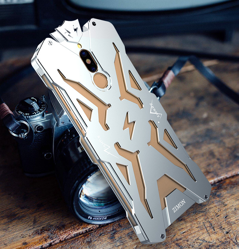 SIMON THOR Aviation Aluminum Alloy Shockproof Armor Metal Case Cover for Huawei Mate 10 Lite / Huawei Maimang 6