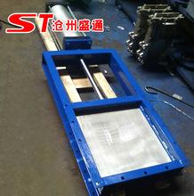 气动平板闸阀 气动插板阀厂家 电动头螺杆闸板阀 排水工程挡板阀