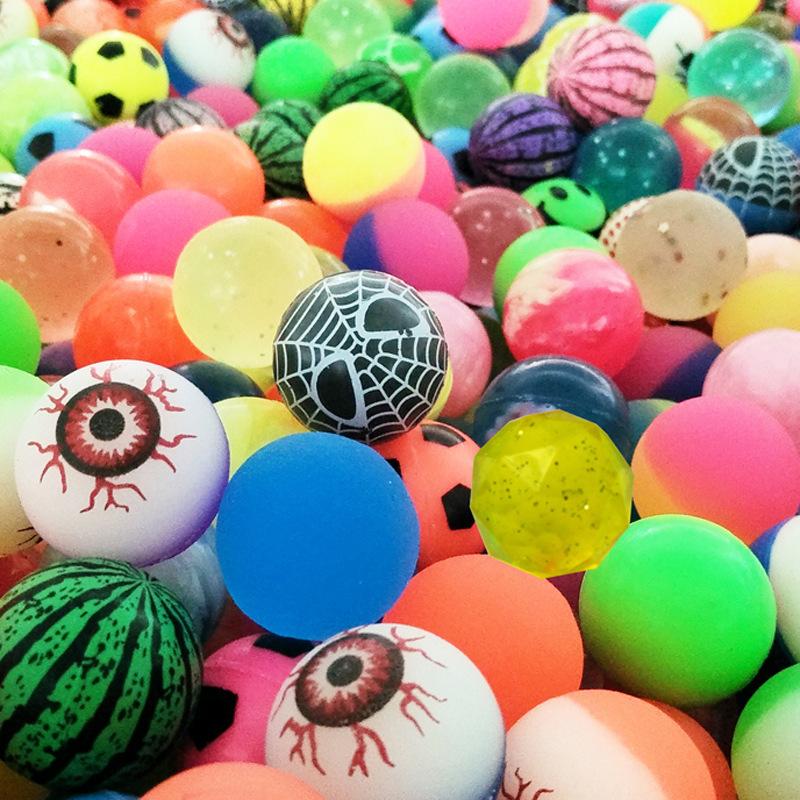 32号跳球弹力球 实心橡胶球 创意热卖地摊货源礼物学生奖品 儿童