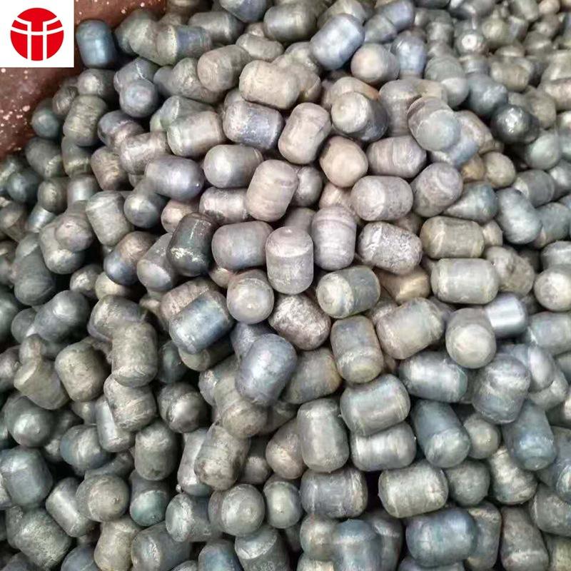 镁矿 加气砖用耐磨钢段45*50mm 特种合金铁段