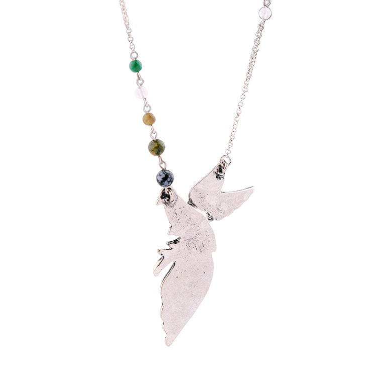 Womens bird-studded alloy Necklaces NHQD142371
