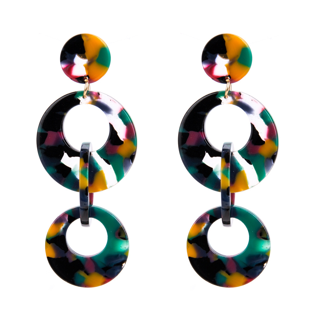 Fashion Other  earring Geometric (Round)  NHJE0915-Round