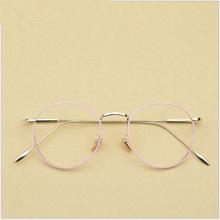 文艺复古圆平光镜超轻眼镜框复古近视眼镜框新款8003眼镜平光镜