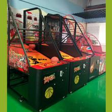 2017新款庆恒成人儿童篮球机投篮机橄榄球机篮球机电玩游戏机