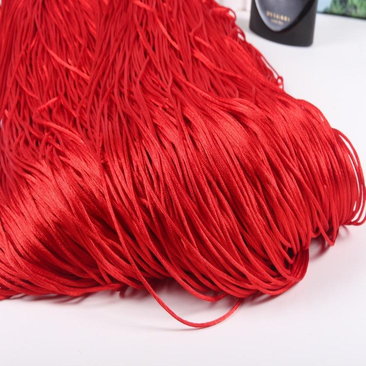 中国结6号线 韩国线 手绳编织线绳diy手工 颜色可定染 厂家批发