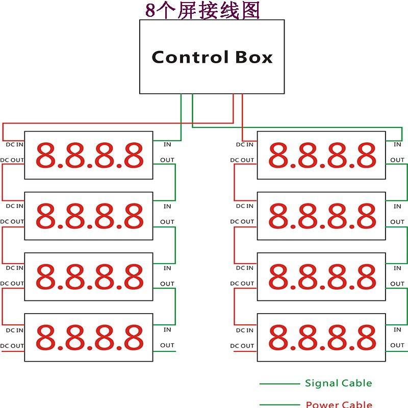 8 screen wiring diagram