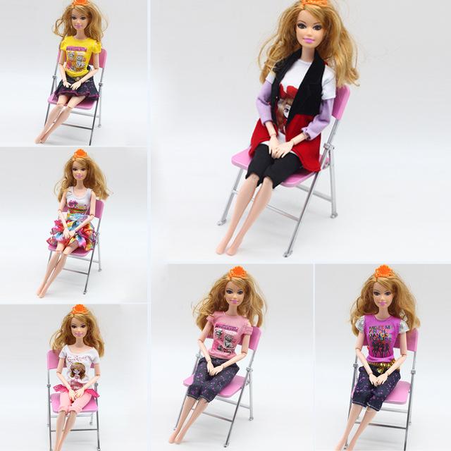 洋娃娃换装时尚连衣裙 换装短袖裙子 过家家洋娃娃裙子 批发