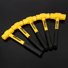 厂家直销加工定制钢管柄八角锤锤子锤头铁锤家用维修装修工具