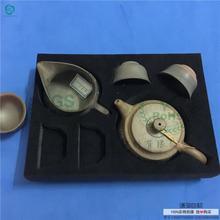 温州供应雕刻高发泡海绵 EVA包装盒内衬内托 植绒EVA茶壶包装泡棉