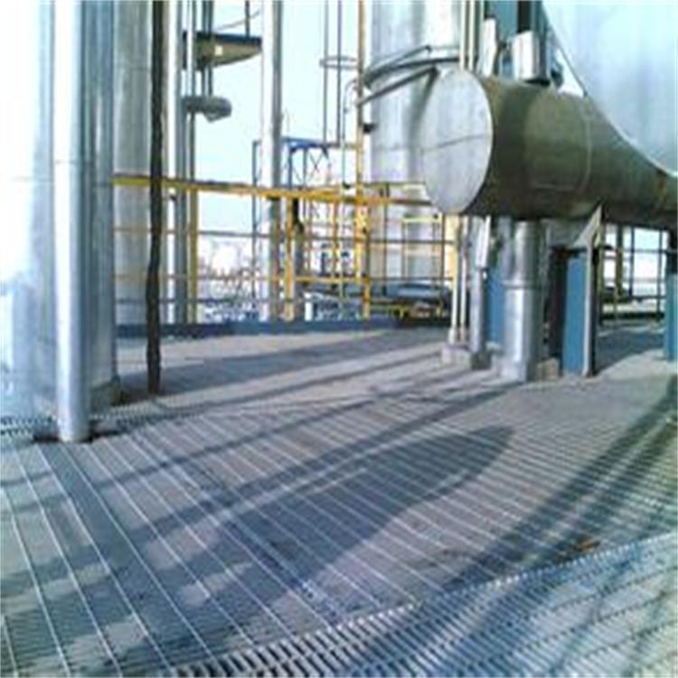 厂家生产热镀锌平台钢格板 电厂用平台踏板不锈钢树池盖 钢梯