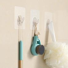 FaSoLa挂钩粘胶无痕免钉门后衣服承重吸盘厨房墙壁墙上不粘钩