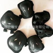 加厚成人輪滑護具溜冰鞋護具牛頭護具六件套護手護膝護肘滑板頭盔