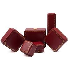 八角充皮紙高檔首飾盒燙金吊墜手鐲手表首飾包裝盒可定做廠家批發