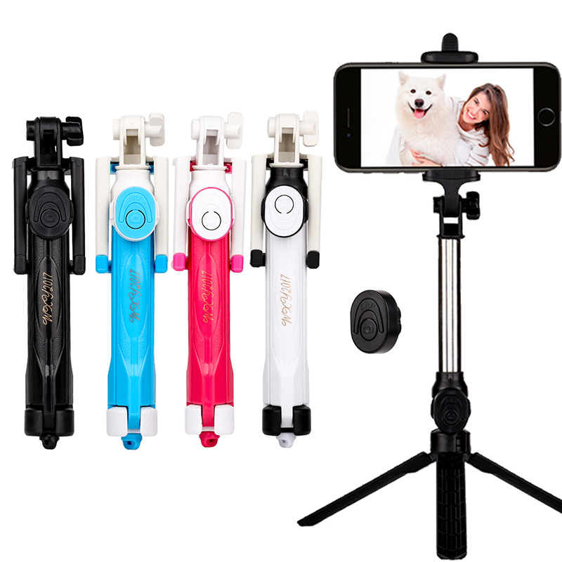 Jual 2018 Hot Sale 3 In 1 Generic Version Multi Function Selfie Stick Portable Shutter With Disassembled Tripod For Ios Android Phone Camera Intl Antik