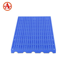 塑料防潮板 可拼接网格小垫板 仓库防潮栈板 地台板 宠物狗笼垫板