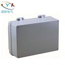 迎欣100*68*50mm铸铝接防水盒金属接线盒电源分线盒合页防爆线盒
