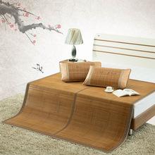 一件代发 生态水磨席 竹凉席1.5m1.8米床 碳化竹席 折叠双面席子