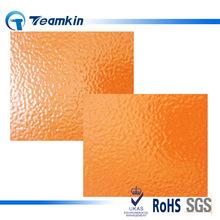 Teamkin户内机械设备用橘红色 桔红色 橙色橘皮效果皱纹粉末涂料