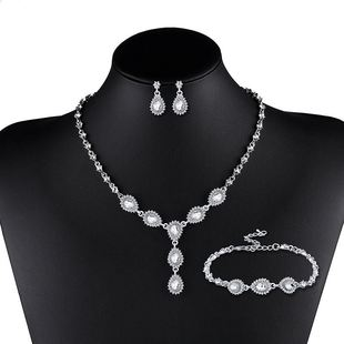 Womens Rhinestone Alloy Other Jewelry Sets NHAS120788