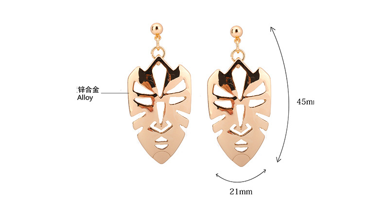 Fashion OL Occident and the United States Zinc alloyearring NHBJ0205