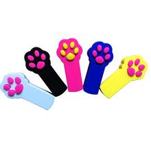 厂家直销猫玩具激光逗猫棒 爪印逗猫红外线镭射激光玩具跨境批发