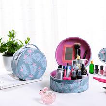 韩国化妆包大容量手提化妆箱两件?#22918;?#25658;旅行迷你收纳