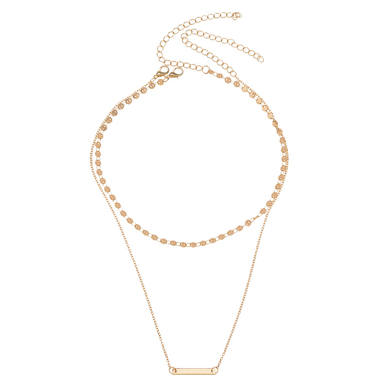 other copper other necklace (Gold)NHYT0298-Gold