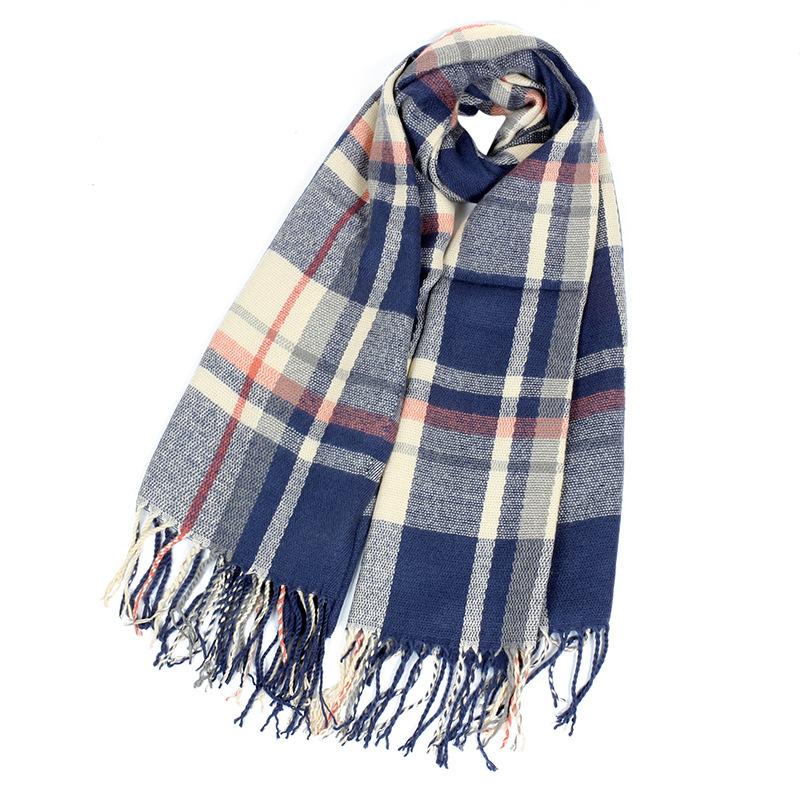 Mùa thu và mùa đông mô hình mới giả giả mạo cashmere khăn phụ nữ ấm dày lên tai tua khăn