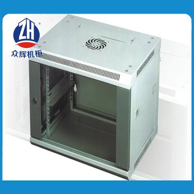 厂价直销挂墙小机柜6U标准网络机柜 黑色浅灰色电脑机柜现货