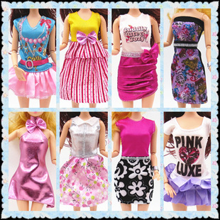 Bar toy doll clothes accessories fashion clothes dresses 11-inch doll clothes fashion dresses