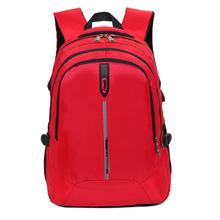新款尼龙电脑双肩包休闲户外运动大容量背包防水透气女包厂家直销