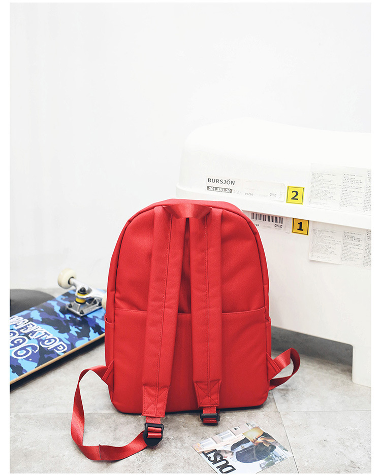 Cute Other  backpack  (red)  NHPB1668-red