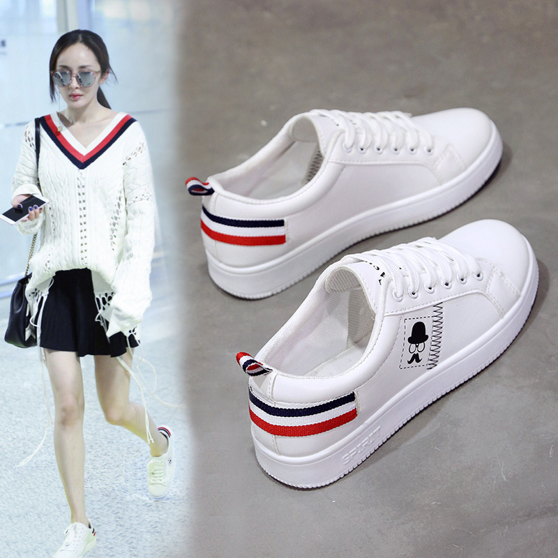 Spring New Versatile Women'S Shoes Korean Sports Small White Shoes Running Casual Shoes