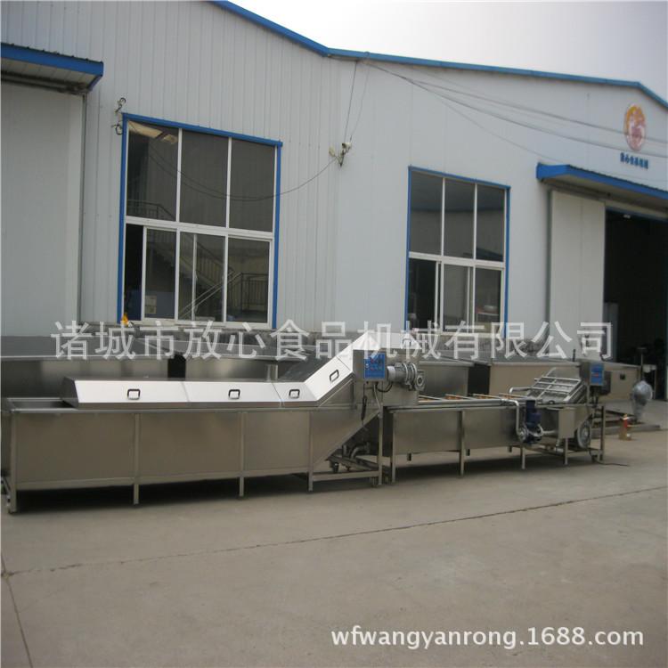 自动速冻毛豆加工设备价格 毛豆蒸煮机厂家 放心机械