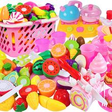 儿童玩具过家家 水果蔬菜切切看乐趣多 厨房玩具切菜散装 厂家低