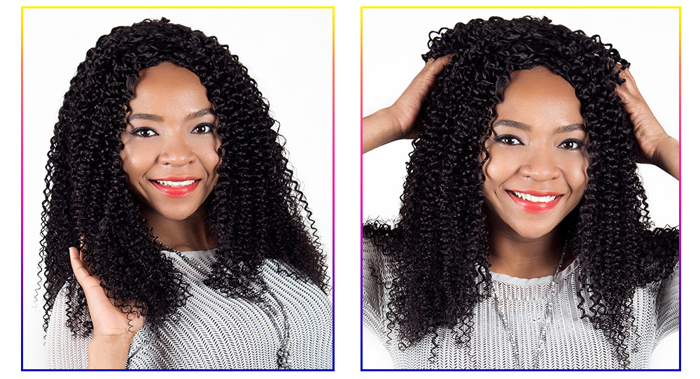 3 Bundles Curly Brazilian Kinky Curly Virgin Human Hair Extensions