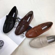 韓國東大門出口原單正品手工制作精品女鞋韓版流行低跟深包頭單鞋